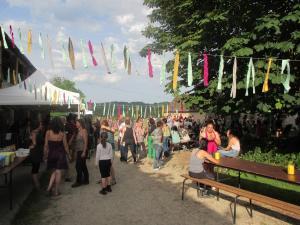 L'entrée du festival